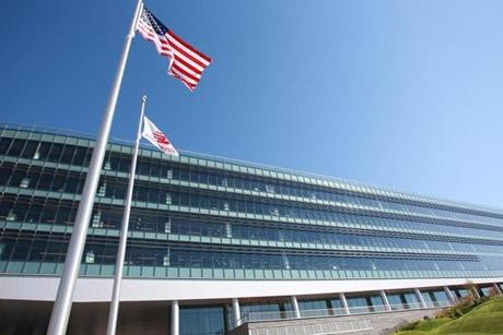 New Balance has moved its world headquarters to 100 Guest Street in the Boston Landing development in Brighton.